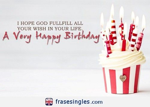 Felicitaciones de cumpleaos en ingls FrasesInglescom